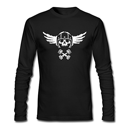 - XXL Bert Pandora Mens Motorcycle Biker Spirit Luck Funny Tshirts