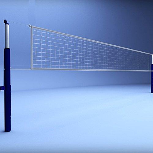 Netco Power Volleyball Net, Cotton (White)