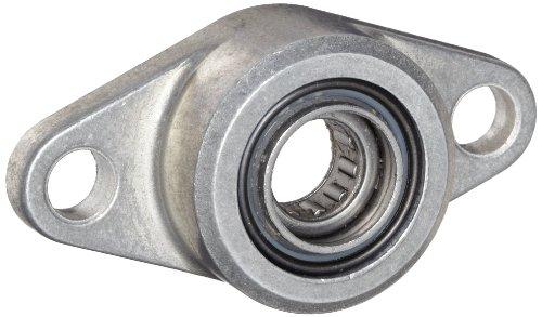 Spyraflo HF2-375-N Self-Aligning, Needle-Roller Bearing With Aluminum 2-Bolt Hole, 3/8