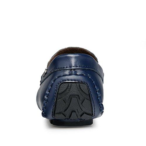 XCR1702 Mocasines Sintético Azul Hombre de Miyoopark Material UK Para 1gqxvE5wF