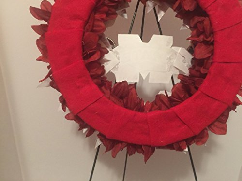 COLLEGE PRIDE - MSU -MISSISSIPPI STATE UNIVERSITY - BULLDOGS - DAWGS - DORM DECOR - DORM ROOM - COLLECTOR WREATH - MAROON DAHLIAS AND CHRYSANTHEMUMS by Peters Partners Design (Image #8)