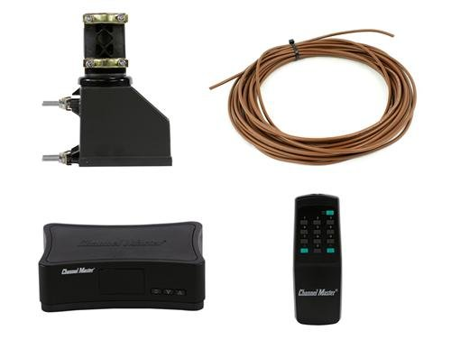 Channel Master CM-9521HD Complete Antenna Rotator System With 50 Foot Rotator Wire For TV, HAM, CB, WIFI, Radio Reception