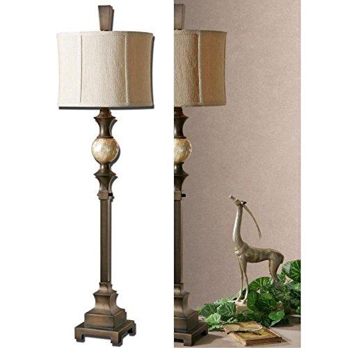 Uttermost 29293-1 Tusciano Lamp, Rubbed Dark Bronze