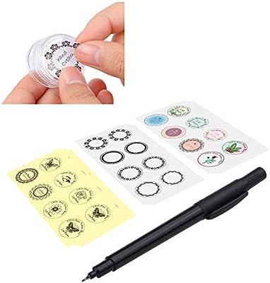 Rectangle Lip Balm Labels by CHAWOORIM Lip Balm Stickers Lip Balm Labels 5sheet 50pcs