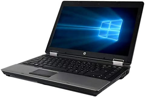 HP ProE-book 6450b 14 Inch Business Laptop, Intel Core i5-520M 2.4GHz, 4G DDR3, 500G, DVD, WiFi, VGA, Display Port, Windows 10 Pro 64 Bit-Multi-Language Supports English/French/Spanish(Renewed)