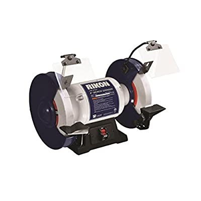 "RIKON Power Tools 80-805 8"" Slow Speed Bench Grinder, ,"
