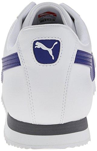 PUMA Herren Roma Basic Sneaker Weiß / Clematis Blau