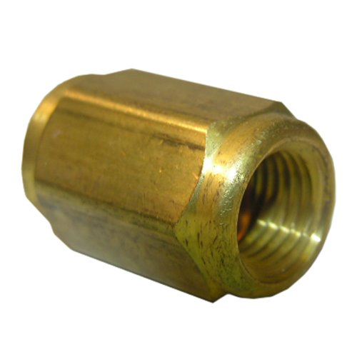 LASCO 17-4311 1/4-Inch Female Brass Flare - Coupling Flare