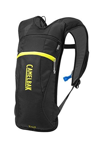 Systems Hydration Camelback (CamelBak Zoid Ski Hydration Pack, Black/Sulphur Springs, 70 oz)