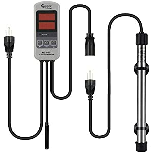 Hygger Titanium Tube Heater with Controller