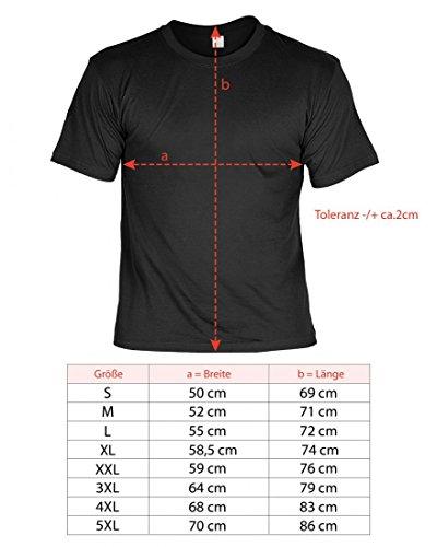 T-Shirt Funshirt - The one and only real Superdad - witziges Spruchshirt als Geschenk zum Geburtstag oder Vatertag Humor