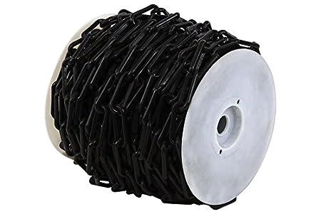 Novap-Cadena De plá stico De señ al diá metro 6 mm-Bolsa De 5 metros, color negro 1165397