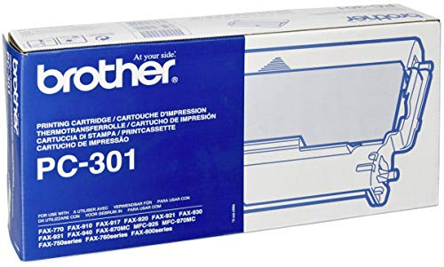 Brother PC-301 Fax/Printer Cartridge - Retail Packaging