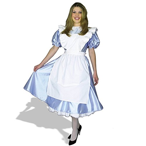 [Charades Costumes Womens Alice Adult Costume Plus Blue] (Alice In Wonderland Costumes For Adults)