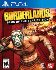 Borderlands Game of the Year Edition Playstation 4 (Physical Version)