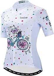 Cycling Jersey Women's Bicycle Tops Shirt Mountain Clothing Outdoor Sports Short Sl