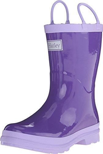 Hatley Womens Purple Rainboots Toddler