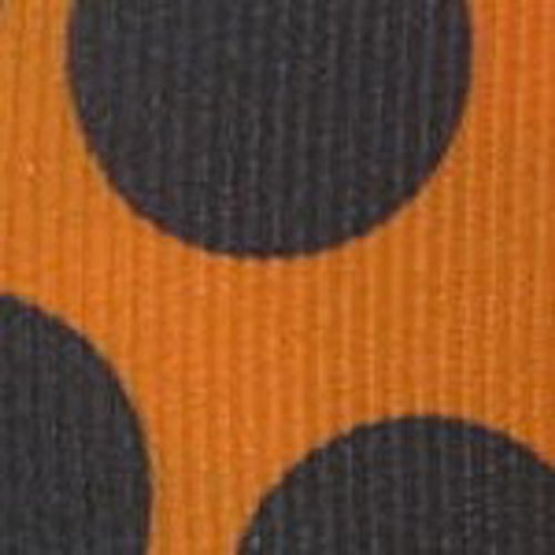 Yds Orange Grosgrain Ribbon (20 Yds Large Dots Grosgrain Ribbon, 7/8 Inch -)