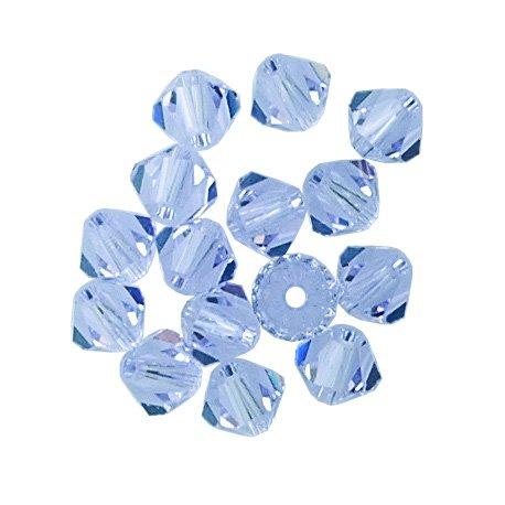 100 pcs 4mm Swarovski 5301 Crystal Bicone Beads, Alexandrite, SW-5301
