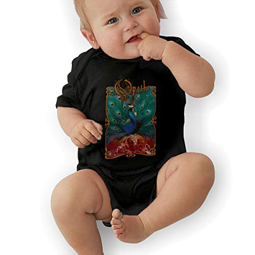 Mabb Infant Opeth Sorceress Bodysuit Outfits Black 0-3M -