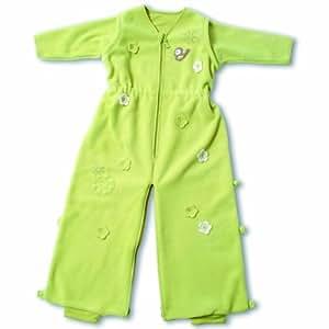 Baby Boum Wendy Fleece - Saco térmico para bebé (1.7 tog, 12-36 meses), color verde