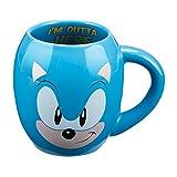 Sonic the Hedgehog 18 Oz. Ceramic Oval Mug
