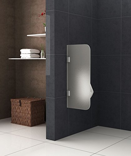 Frosted Glass Urinal Partition Grado
