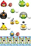 Angry Birds K'Nex Easter Bags Bundle of 5 Figures (Figures May Vary)