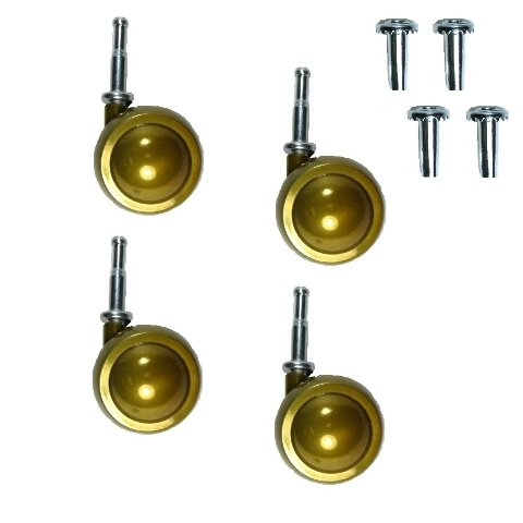 Set of 4 Brass Satellite Swivel 2