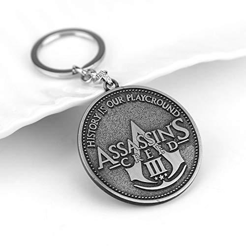 DADATU Llavero Juego Película Assassins Creed Llaveros ...