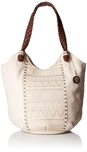 The Sak Indio Large Tote Bag, Stone Tribal Quilt, One Size by The Sak