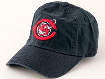 Cleveland Indians MLB Baseball Cap One Size American Needle Cotton Twill Navy