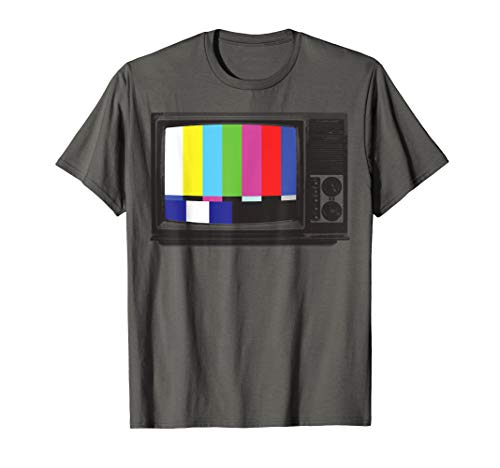 No Signal 70s 80s Television Screen Retro Vintage TV T-Shirt