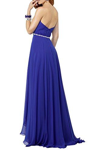 Promkleider Brau Abendkleider Abschlussballkleider mia La Blau Kleider Tinte Chiffon Langes Brautjungfernkleider Jugendweihe Elegant wO8xxX54