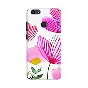 Cover It Up Natural Print Hard Case For Vivo V7 Plus - Multi Color