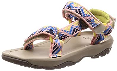 Teva Girls' T Hurricane XLT 2 Sport Sandal, Boomerang Apricot Blush, 10 Medium US Toddler