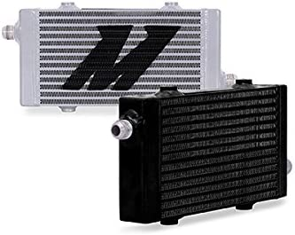 Mishimoto MMOC-SP-SSL Silver Bar and Plate Oil Cooler (Universal Cross Flow,Small)