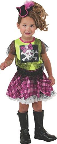 Patrick Pirate Costumes (Rubie's Costume Baby's Punk Pirate Toddler Costume, Multi, Toddler)