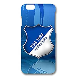3D Personalized Football Club With Dark Blue Hard Plastic Phone Case For Iphone 6 TSG 1899 Hoffenheim Football Club Logo Print Design For Fans