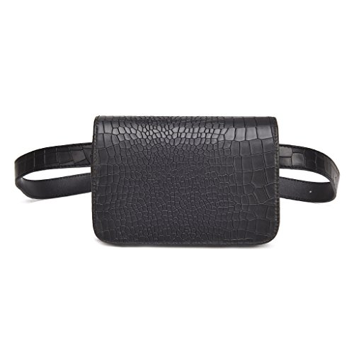 HOHOME Alligator Pattern Latest Fashion PU Waist Bag Ladies Portable Phone Female Pack (Latest Fashion Bag)