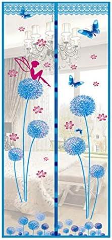 Imán de encriptación anti mosquitero mosquitera pantalla de puerta de tul adsorción automática magnética cortina de puerta anti mosquitos A2 W110xH210