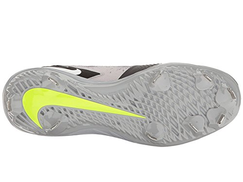 Nike Heren Maan Damp Ultrafly Elite Honkbal Klamp Zwart / Wit / Wolf Grijs / Cool Grey