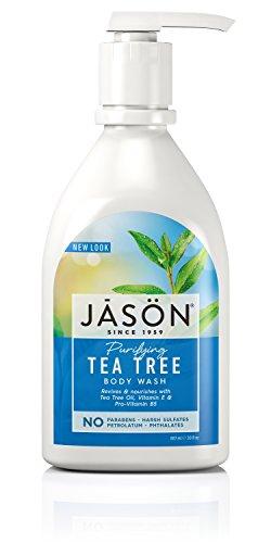 JASON Purifying Tea Tree Body Wash, 30 Ounce Bottle (Jason Tea Tree Hand Soap)