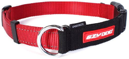 Ezydog Checkmate Collar, Large, Red