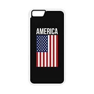 """WINDFC American Flag Is It Friday Meowy Christmas Merry & Bright Phone Case For iPhone 6 (4.7"""") [Pattern-5]"""