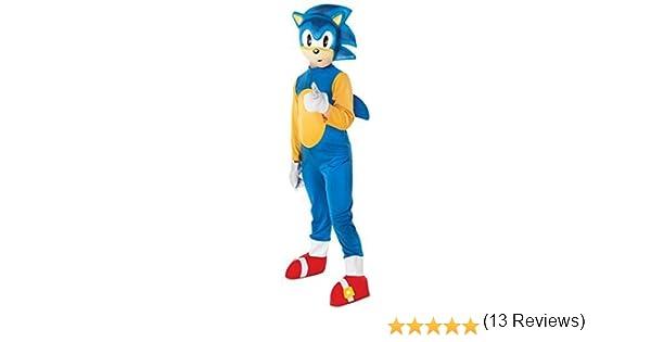 Fancy Me Niño Sega Sonic The Hedgehog Animal Juego De Ordenador ...