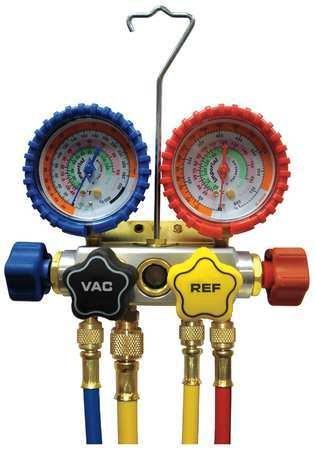- Imperial Mechanical Manifold Gauge Set, 4-Valve - 846-CS