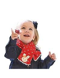 Changeshopping Children Scarf Warm Shawl Winter Rabbit Style Neck Warmer (Red)