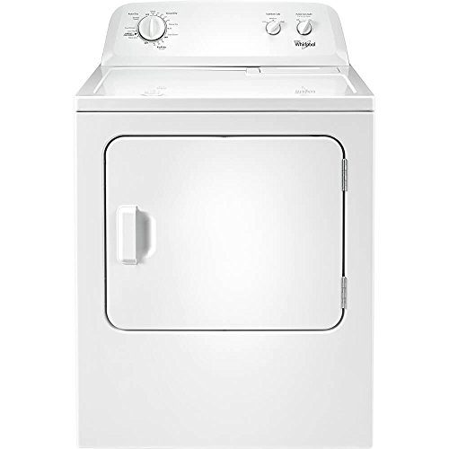 Whirlpool WED4616FW 7.0 Cu. ft. Top Load Paired Dryer with the Wrinkle Shield Option ()
