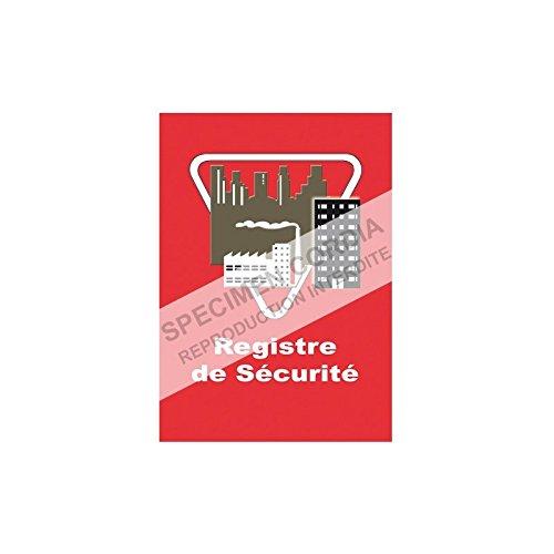 Registre de sécurité incendie Edition simplifiée Cordia Incendie